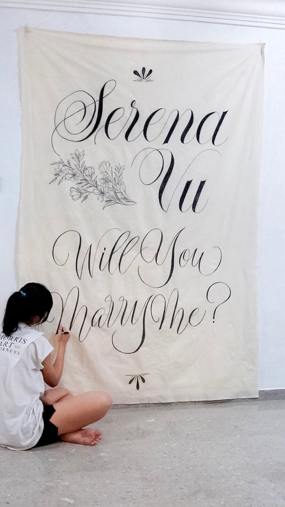 Will You Marry Me Wall Tapestry/ Backdrop.jpg