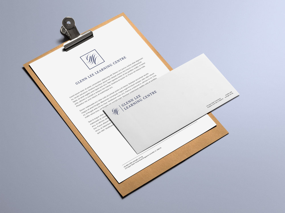 Glenn Lee Learning Centre Singapore Logo Design Branding Rebrand Document-+-Envelope.jpg