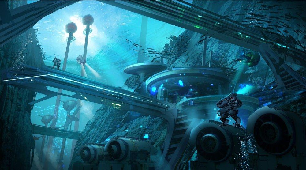 Submarine exploration / alternative energy