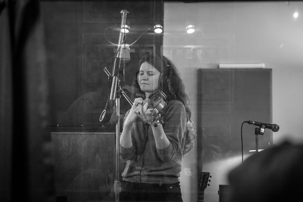 Carol came later - fiddle overdubs