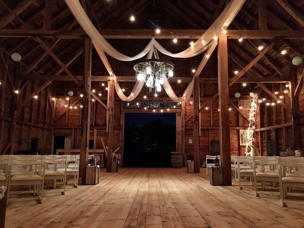 Rustic Barn Venue    Annapolis Valley, NS