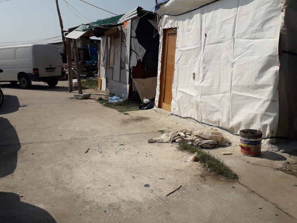 The shantytown; July, 2018. © Pamela Kerpius