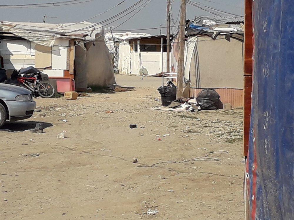 Inside the shantytown; July, 2018. © Pamela Kerpius