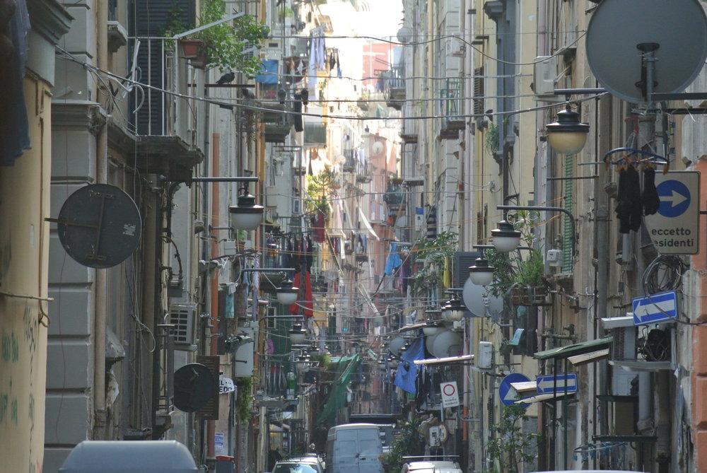 Naples, Italy. November 2017. © Pamela Kerpius