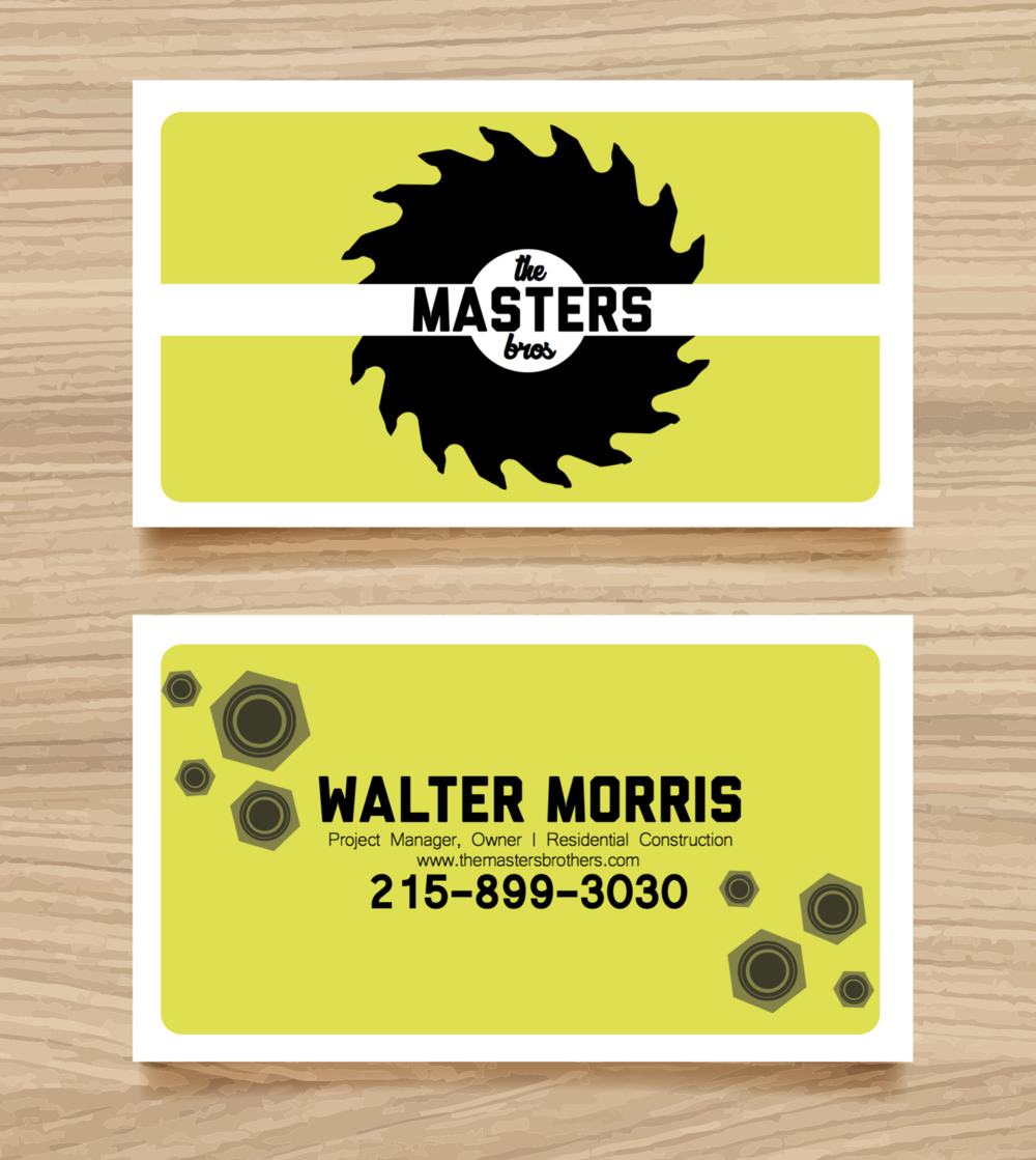Note: This is not an accurate phone number. Template for business cards (not the design) was made by Freepik.com