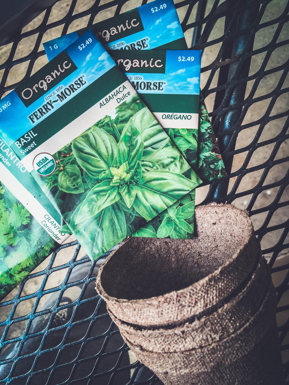 Organic Seeds!