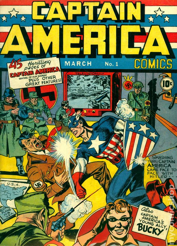 Captain America #1, March 1941