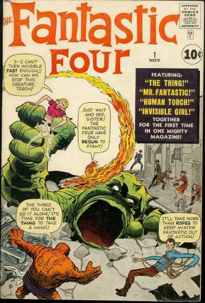 The Fantastic Four #1, November 1961