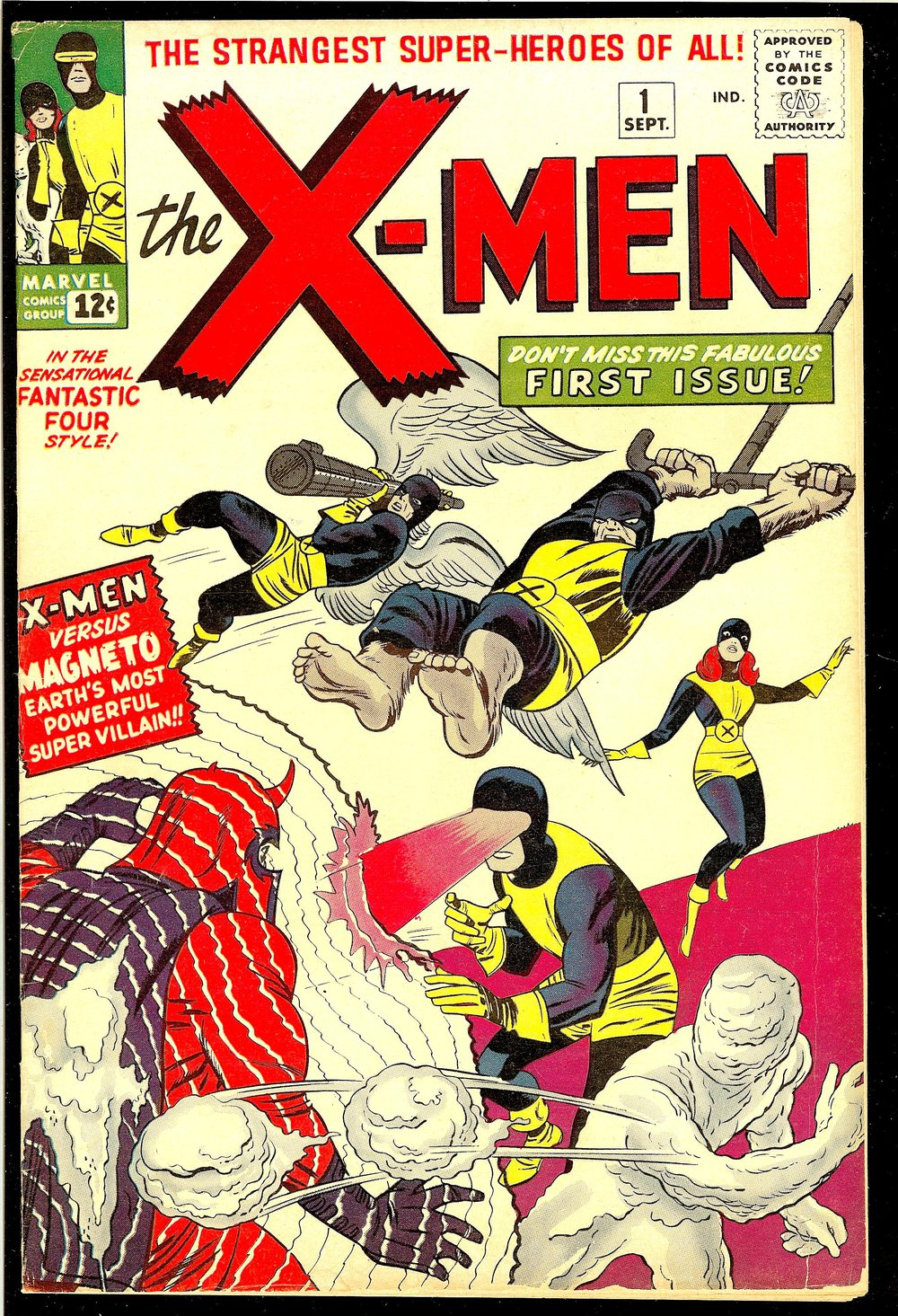 X-Men #1  (Sept. 1, 1963)