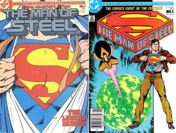 Man of Steel #1, 1986