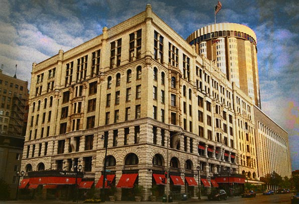 The Pfister Hotel in Milwaukee.