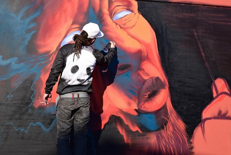 Professional Street Art Painter Business Idea
