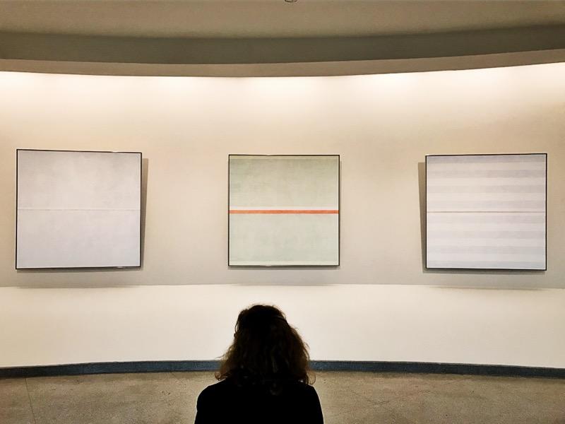 Näyttely: Agnes Martin, Solomon R. Guggenheim Museum, New York