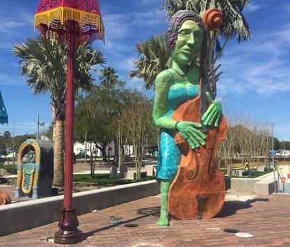 Gateway Sculptures, Perry Harvey Park