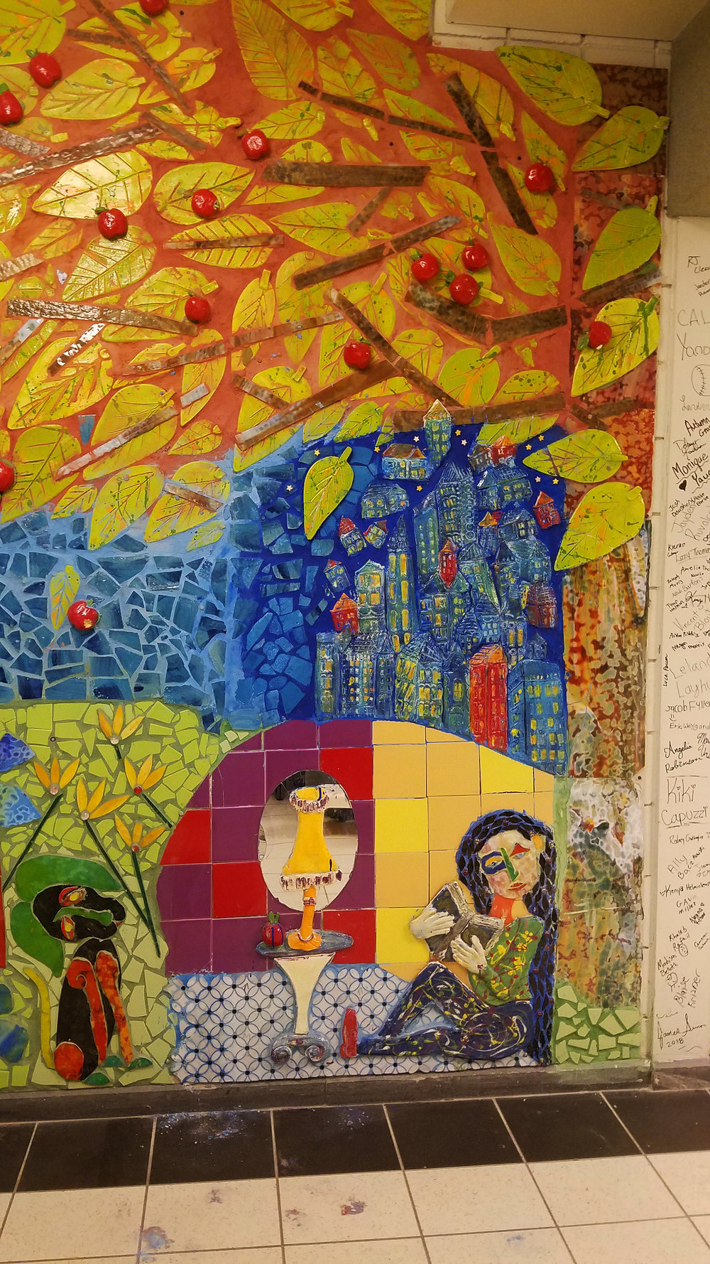 Laurel Highschool Mosaic