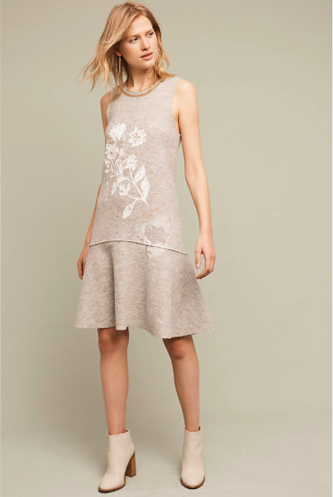 Afterligh Wool Dress - Regular Price $178.00, Sale $22.46