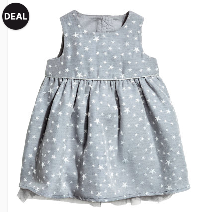 Glittery Baby Dress - Sale Price $5, Regular Price $9.99