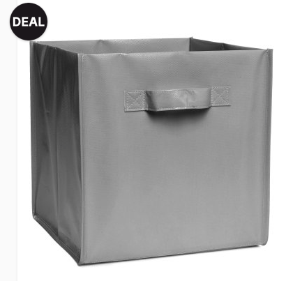 Storage Box (comes in 6 colors) - Sale $2.99, Regular $6.99