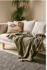 Rowley Cozy Fleece Throw - Sale $11.99, Regular $49