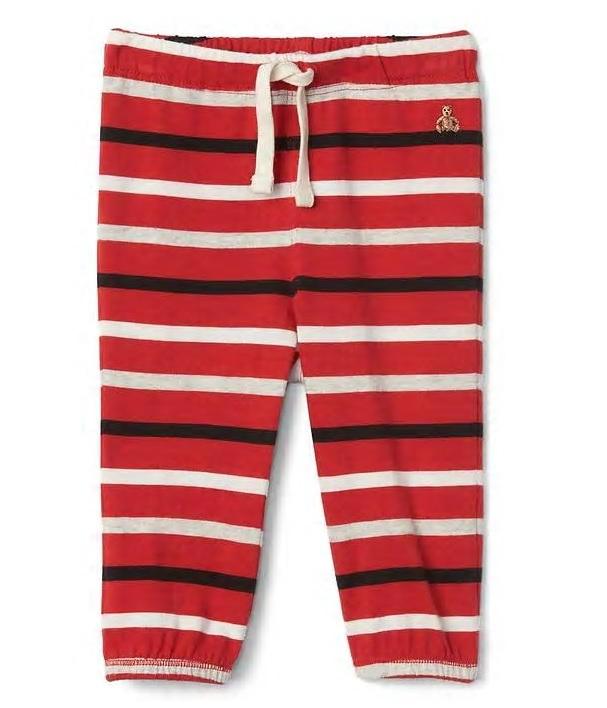 Striped Jersey Pants: Regular $14.95, Sale $3.59