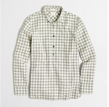 Homespun Popover shirt - Sale $8.99, Regular $64.50