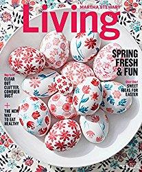 Martha Stewart Living Subscriptiion: $5