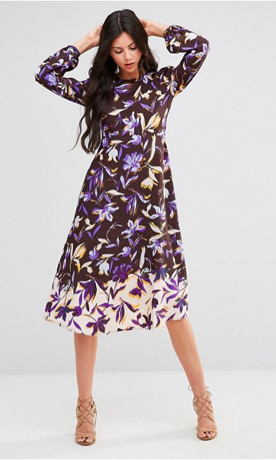 Midi Dress Floral - Sale $24.80, Regular $52.62