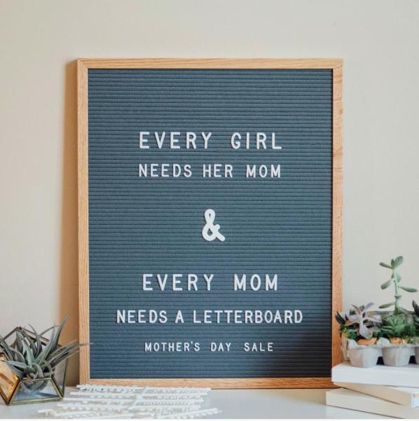 Letter Folk Premium Letter Boards On Sale! — CLEVER SHOPPING 101