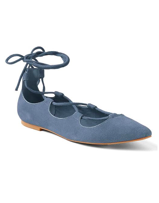 Lace up Ballet Flat (available in 4 colors) - Sale $20.99, Regular $69.95