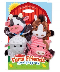Farm Friends Hand Puppets: Sale $12.49, Regular $20.00