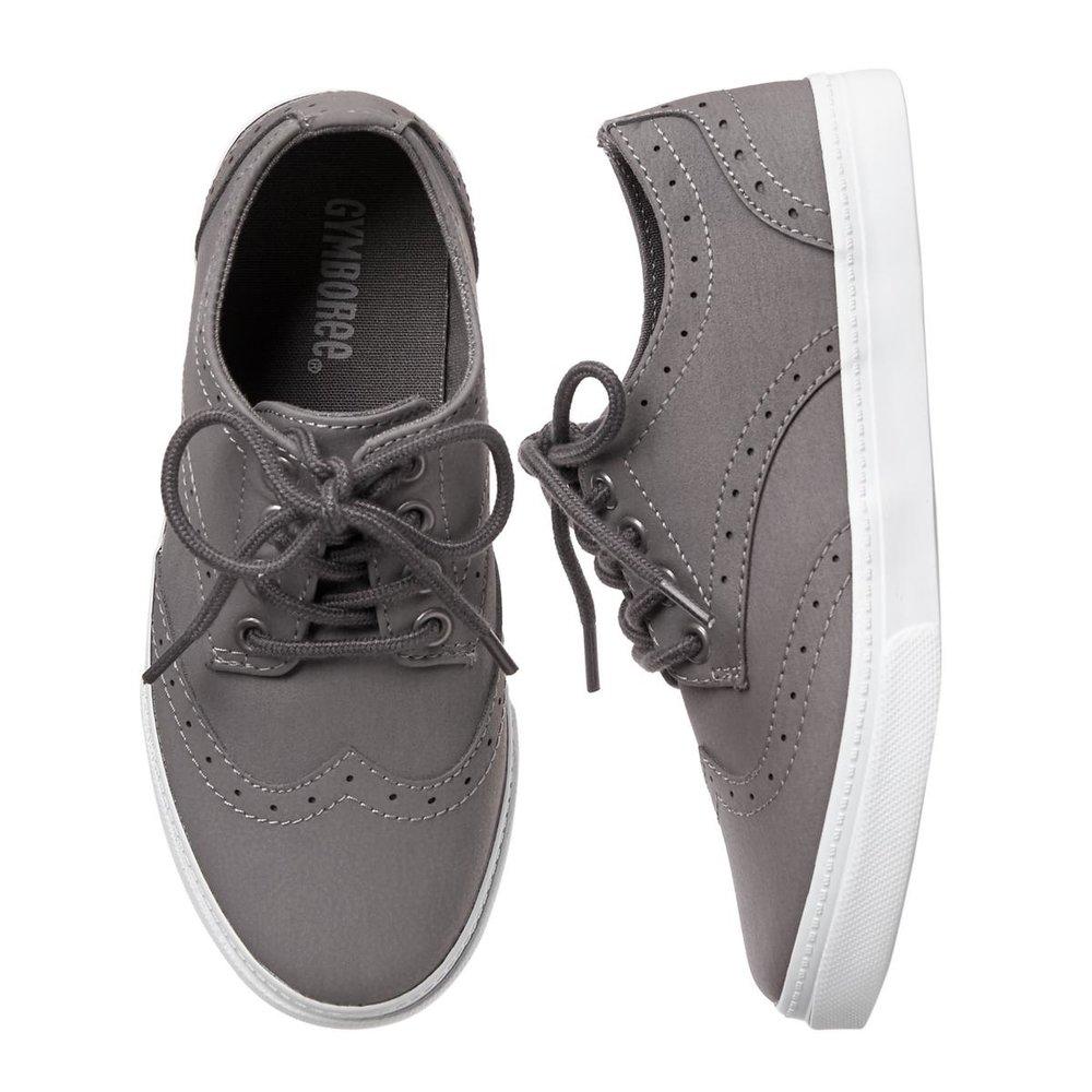 Boys Wingtip Sneakers: Sale $9.99, Regular $32.95