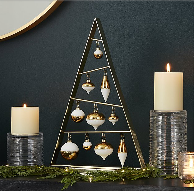 crate barrel christmas decor up to 75 off clever shopping 101