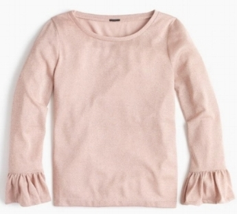 Sparkle Bell-Sleeve Top: Sale $12.49, Regular $39.50 (available in 4 colors)