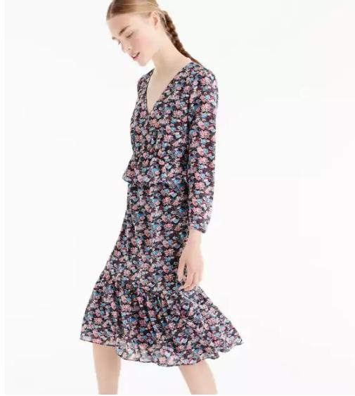 Ruffle-hem Dress: $15.99, Regular $148.00