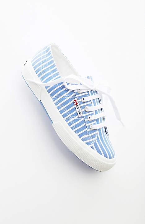 Striped Sneakers: Sale $35.99, Regular $79.00