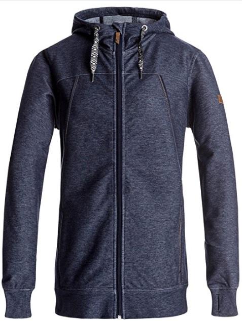 Roxy Snow Frost Fleece Jacket (Peacoat): Sale $39.98, Regular $99.95