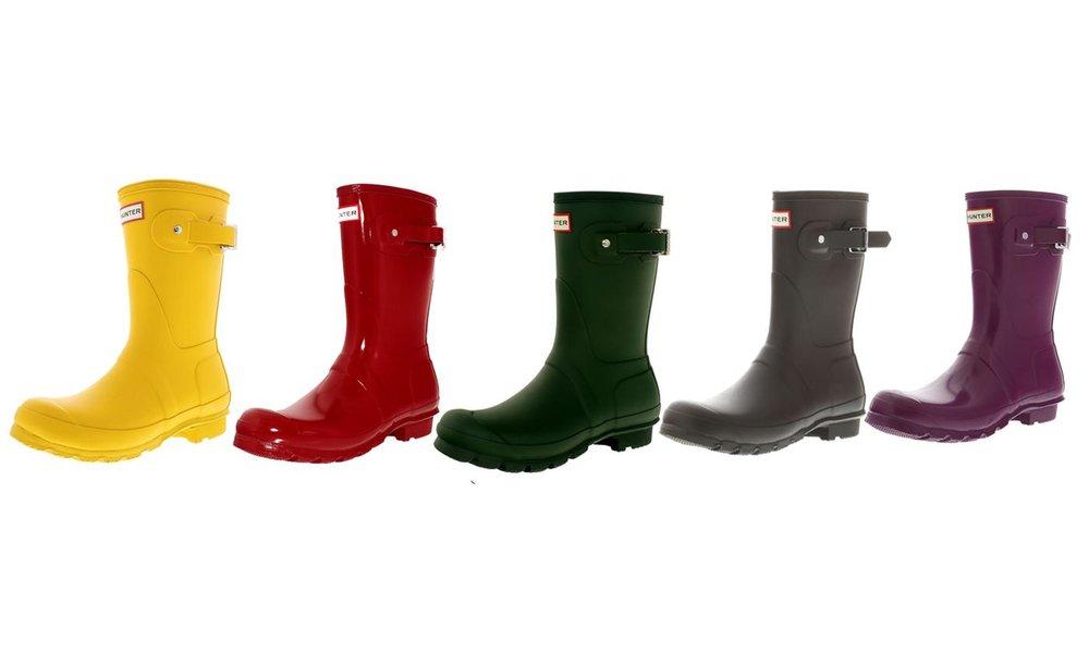 HUNTER Original Women's Short Rain Boot: Sale $107.99