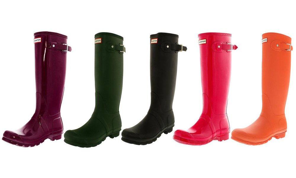 HUNTER Original Women's Tall Rain Boot: Sale $98.99
