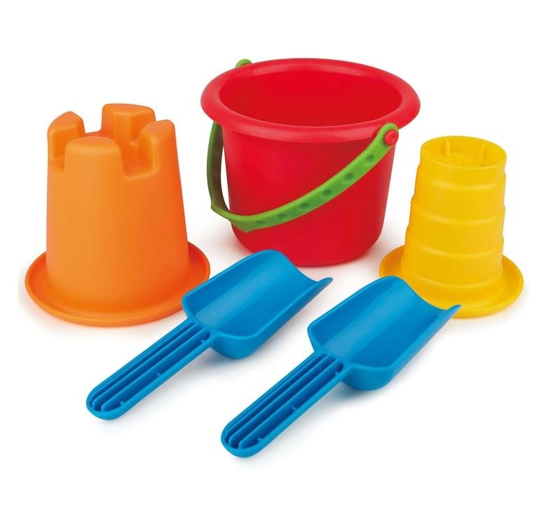 Hape 5-in-1 Beach Toy Kit: Sale $10.19, Regular $16.99