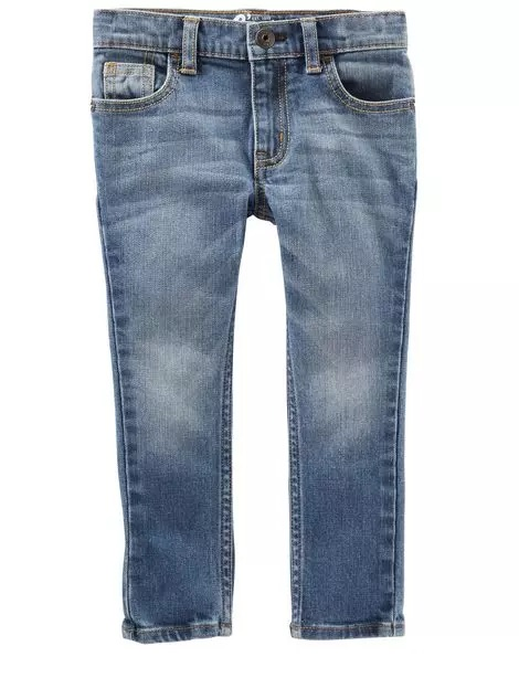 Toddler Boy Skinny Jeans - Indigo Bright Blue: Sale $9.97, Regular $30.00