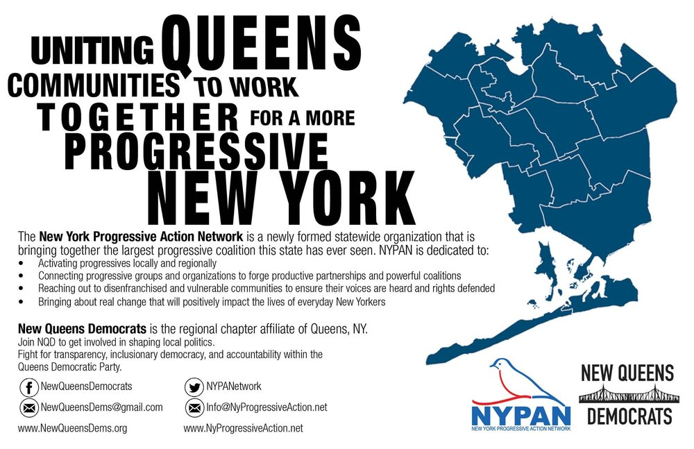 Official new queens democrats + nypan flyer, jan 2017