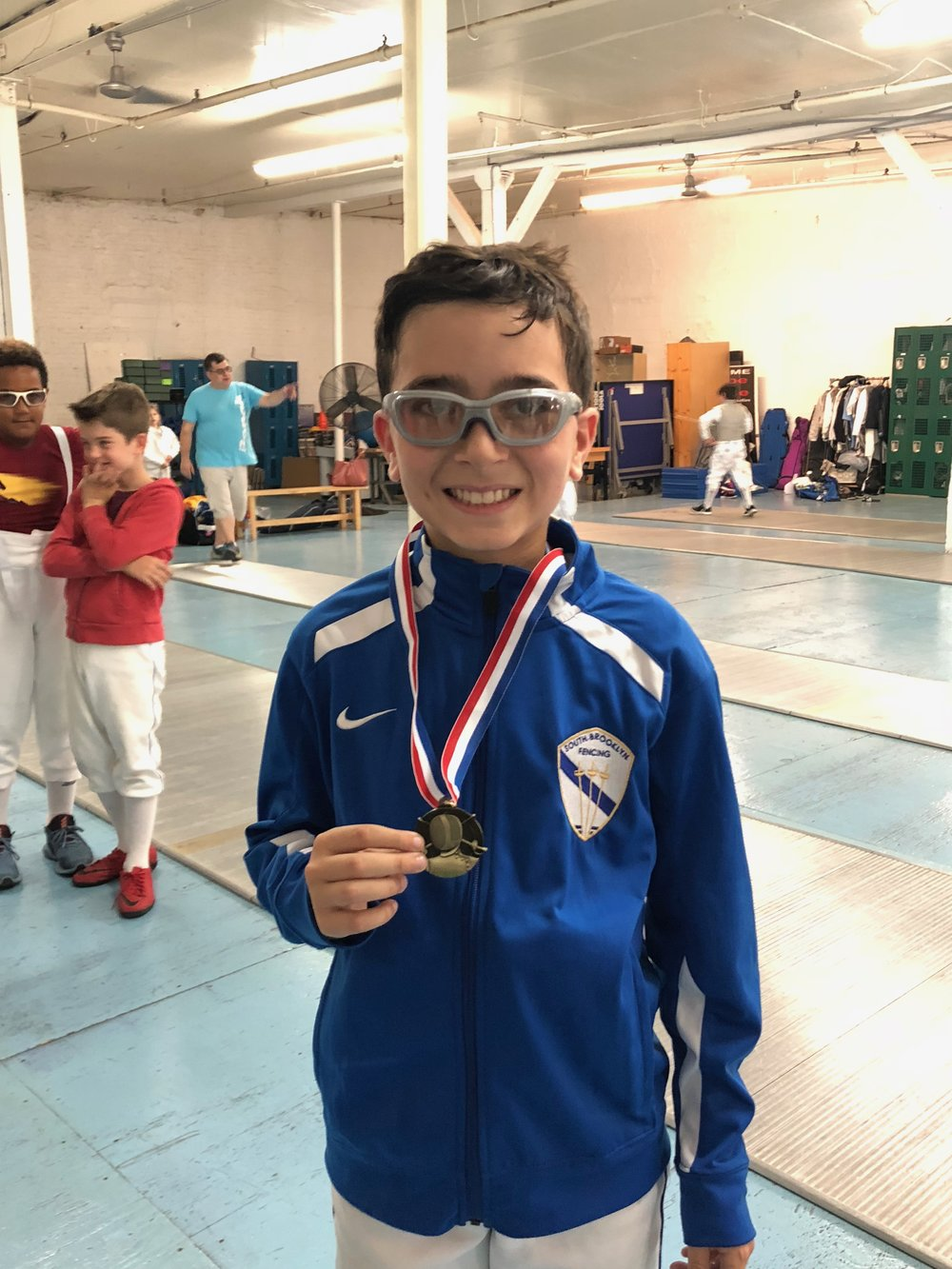 BROOKLYN YOUTH Y12 Sebastian Garcia 1st place  September 23th 2018