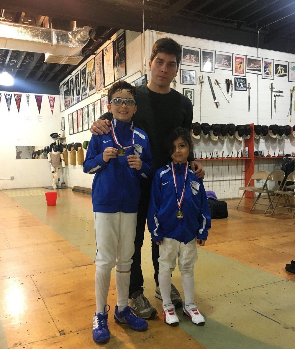 GFA Y10  Sebastian Garcia 8th place Robert Gofman 27th place Emily Cascone 8th place    june 3th 2018