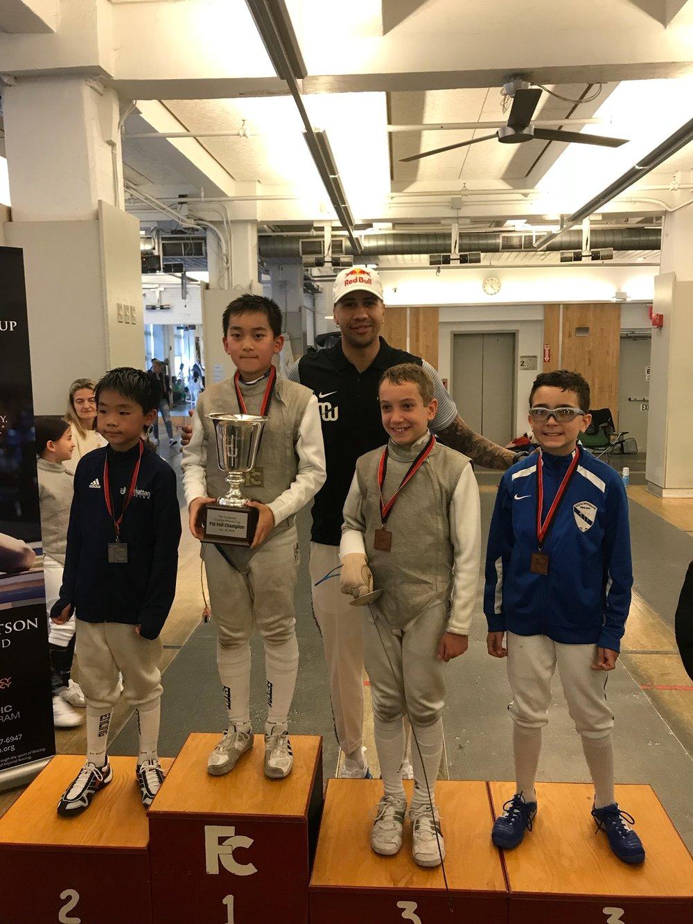 FC YOUTH Y10 (Chamley-Watson Cup) Sebastian Garcia 3srd place  April 29th 2018