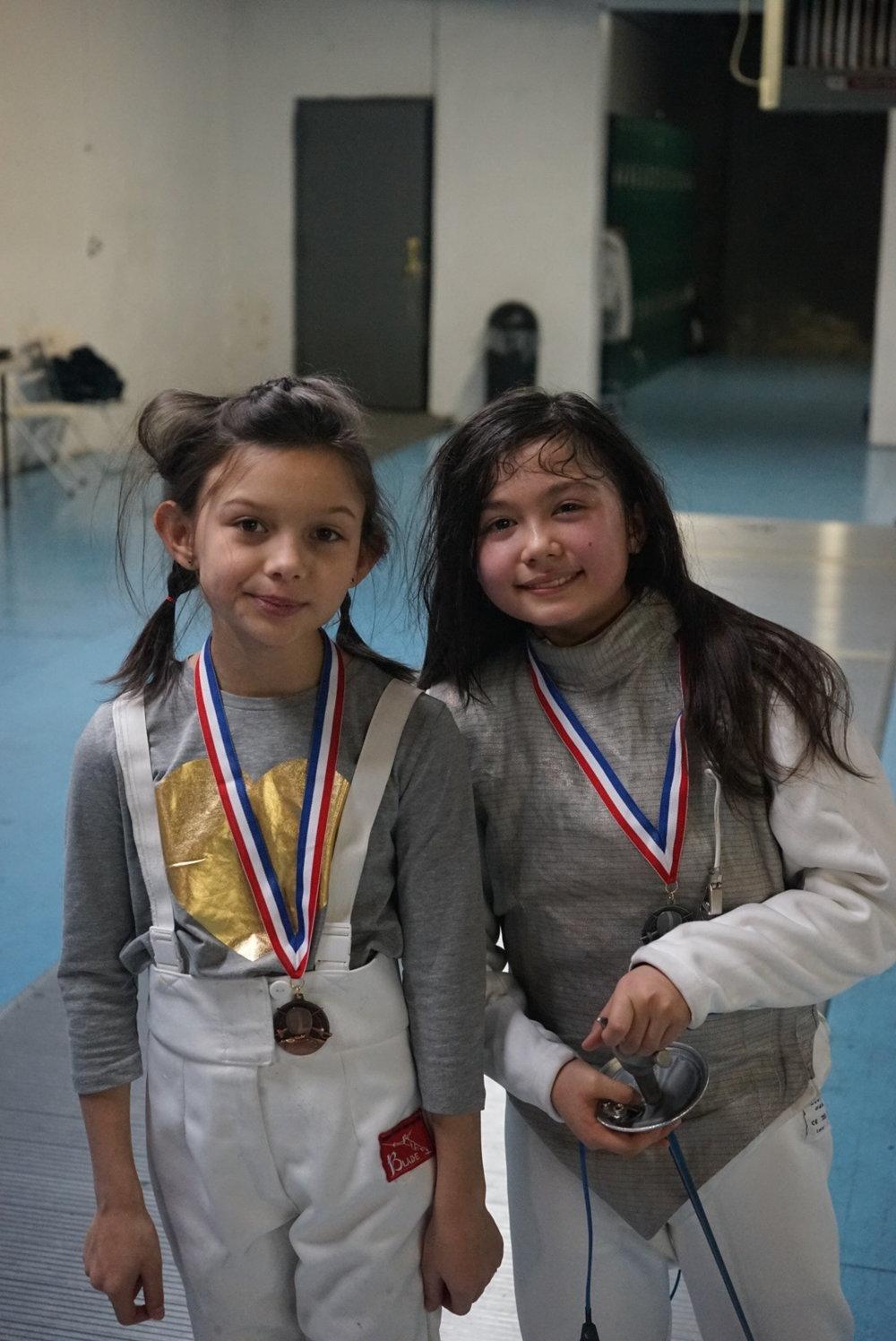BROOKLYN YOUTH Y10 Sabine Sarefield 3rd place  March 6th 2016