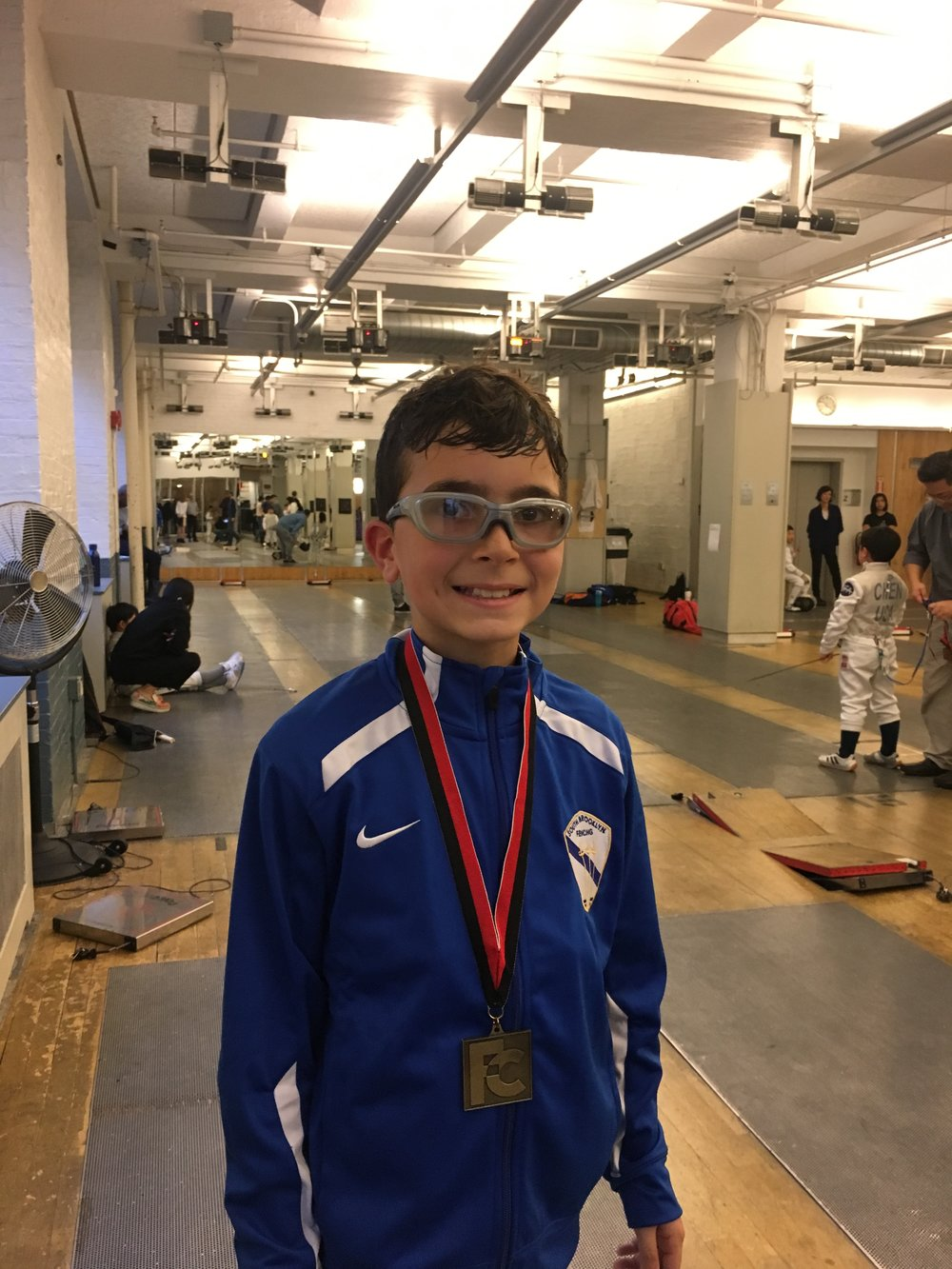 FC YOUTH Y10 Sebastian Garcia 1st place January 21st 2018