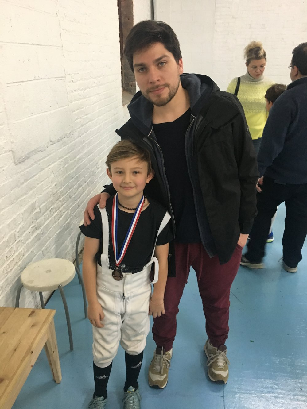 BROOKLYN YOUTH Y8 Harold Sarefield 2nd place  October 2nd 2016