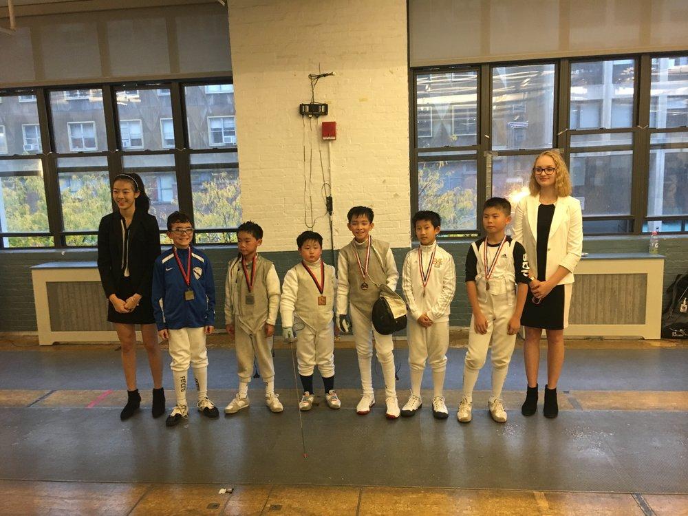 FC YOUTH Y10 Sebastian Garcia 1st place  January 21st 2018