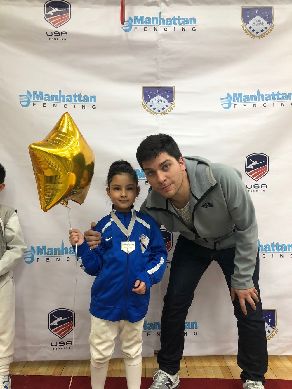 Manhattan Fencing Center Youth    Emily Cascone 2nd place mixed  December 2nd 2018