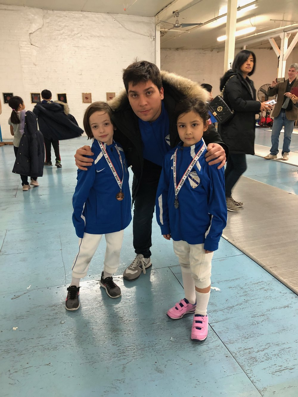 Brooklyn Youth Tournament  Emily Cascone 2nd place Y8 mixed Julien Taber 7th place Y8 mixed  January 13th 2019